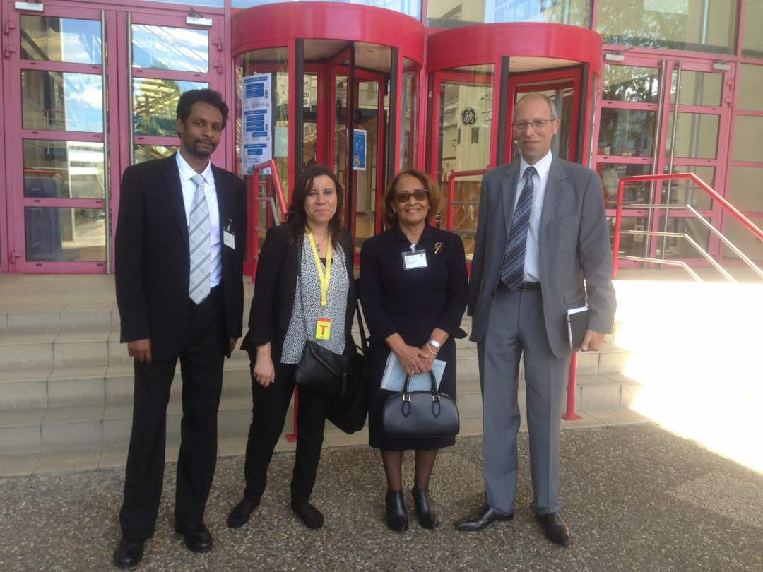 Dr hania and eng hisham visit to GE (buc France)